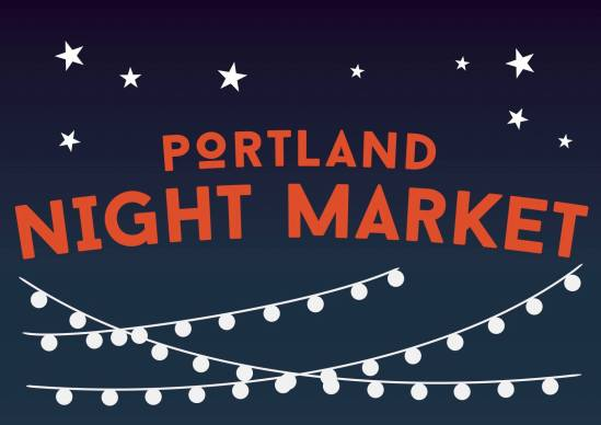 Portland Night Market Banner