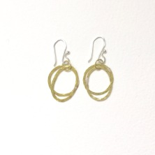 Brass circled dangles