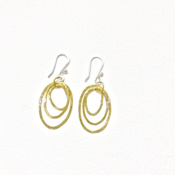 Triple brass hoops