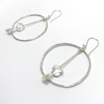 Quartz and Sterling Silver