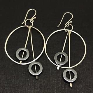 Asymmetric Hoop Earrings