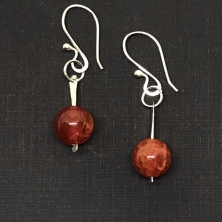 Fire Agate Drops
